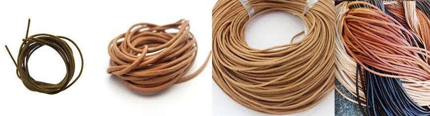 Buy Lederbänder Lederbänder rund Vorgeschnittene Lederbänder  at wholesale prices