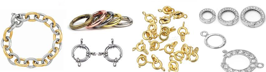 Buy Clasps Springring Clasps  Stainless Steel Springring Clasps  at wholesale prices