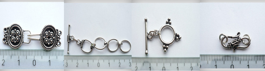 Buy Pierres semi precieuses et Argent massif 925 Argent massif 925 Fermoirs  at wholesale prices