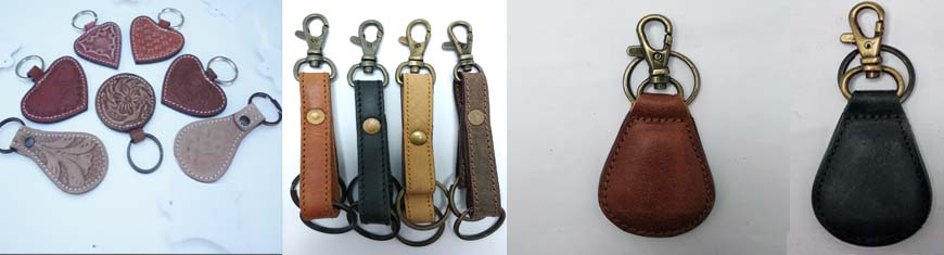 Buy Leather Cord Leather Key Chains  at wholesale prices