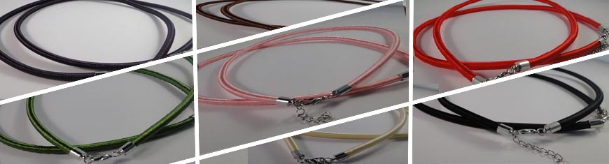 Buy Bead String material and Faux Cords Necklace Cords in Wire and Rubber  at wholesale prices