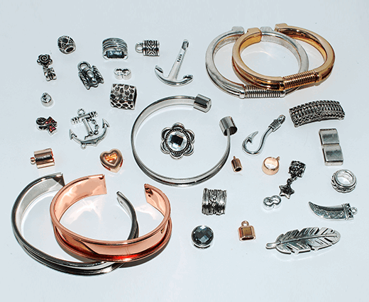 Zamac and Copper parts and locks