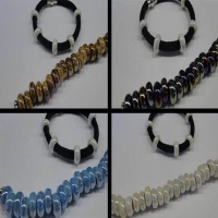 Ceramic Beads with hole 6mm
