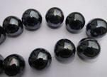 Perles rondes en céramiques - 16 mm