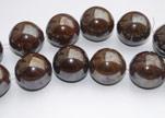 Perles rondes en céramiques - 30 mm