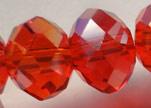 Perles rondes en cristal à facettes - 4 mm