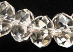 Perles rondes en cristal à facettes - 8 mm
