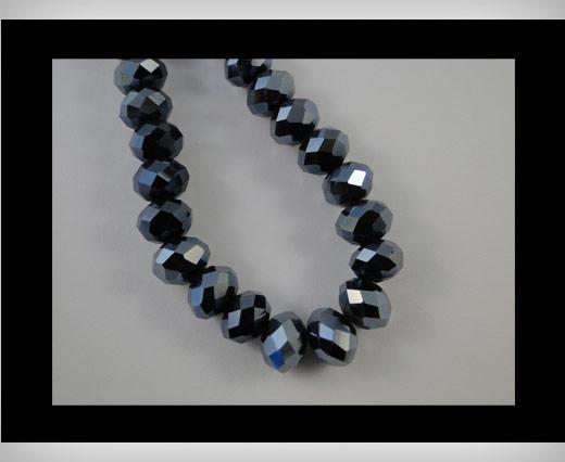 Perles rondes en cristal à facettes - 3 mm