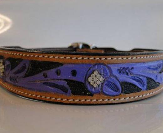 Dog Collars in Leather