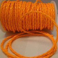 Eco Round Braided Leather - Neon Colours