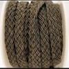 Cordes en coton tressé plat