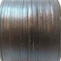 Flat Leather Cords - Cow -width 4mm