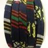 Corde plate fabric style Incas - 10mm