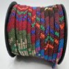 Cordes plates multicolores fabric style- 5mm