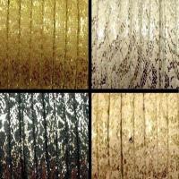 Flat Leather 5mm Glitter - 15 mts roll