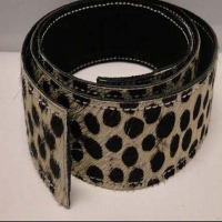Hair - On Leather Belts