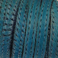 Hair - On Leather with Stitches - 10 mm