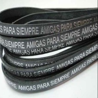 Leather with Names - Amigas Para Siempre - 7 mm