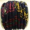 Cordoncini di cotone nappa multicolore stile 6mm