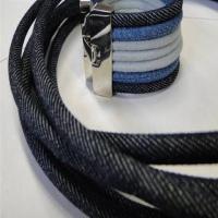 Nappa Leather with Denim Fabrics