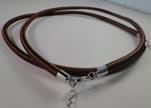 Corde e fili per collane in metallo e caucciú