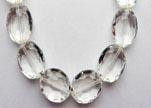 Perles en verres ovales