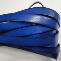Real Flat Italian Leather Cords - 8 mm * 2 mm