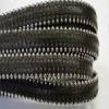 Cuir Nappa plat avec des chaines en acier - 10mm