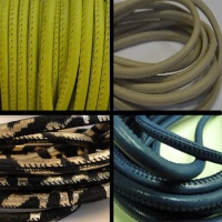 Real Nappa Round Leather Cords - Multiple Sizes