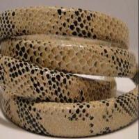 Regaliz Leather Snake Style