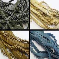 Real Nappa Leather Ribbon Style