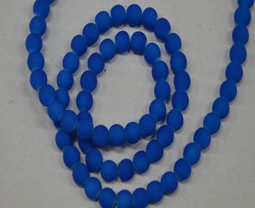 Round Glass Beads - 8mm