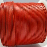 Round Leather Cords - 1mm