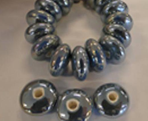 Wooden Beads - Snake Style