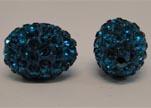 Shamballa Beads  Oval Shape