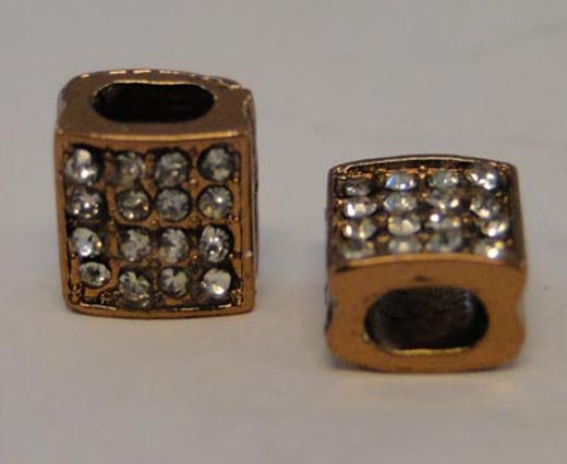 Shamballa Style Slider Bead