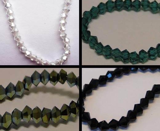 Sharp Glass Beads