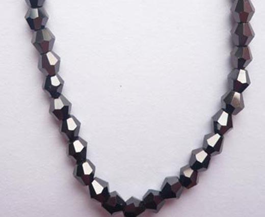 Sharp Glass Beads - 6mm