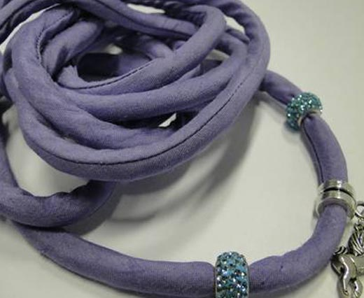 Silk cords with cotton filling - 8mm
