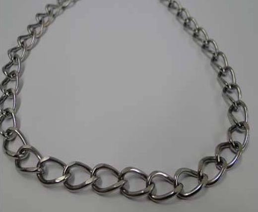 Stainless Steel Chains - Steel Color