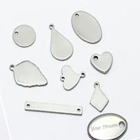 Stainless Steel Logo Tags for Engraving