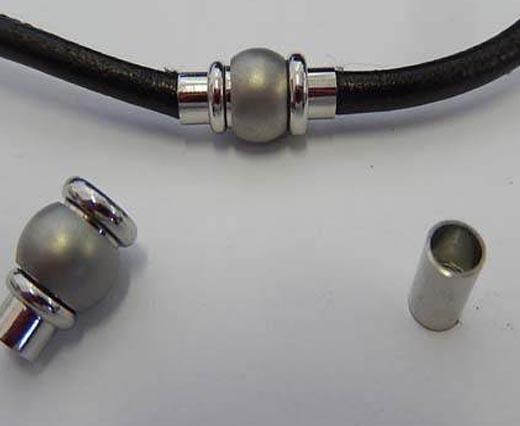 Stainless Steel Magnetic Locks - Matt Finish
