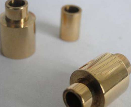 Stainless Steel Parts for Leather - Gold Plating