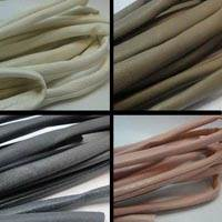 Real Nappa Leather Cords - Tubular with Inner Stitch