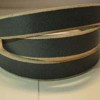 Vegetable Tanned Flat Leather - Natural Edges
