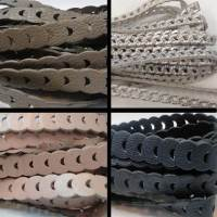 Real Nappa Leather Cords - Chain Style