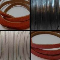 Flat Leather Cords - Cow Leather with thickness 1mm