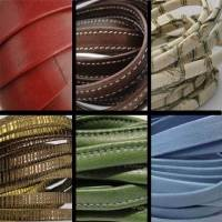 Real Nappa Flat Leather Laces - Multiple Sizes and Styles