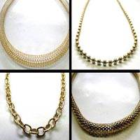 Stainless Steel Chains - Gold Colour