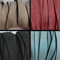 Nubuck Flat Leather cords